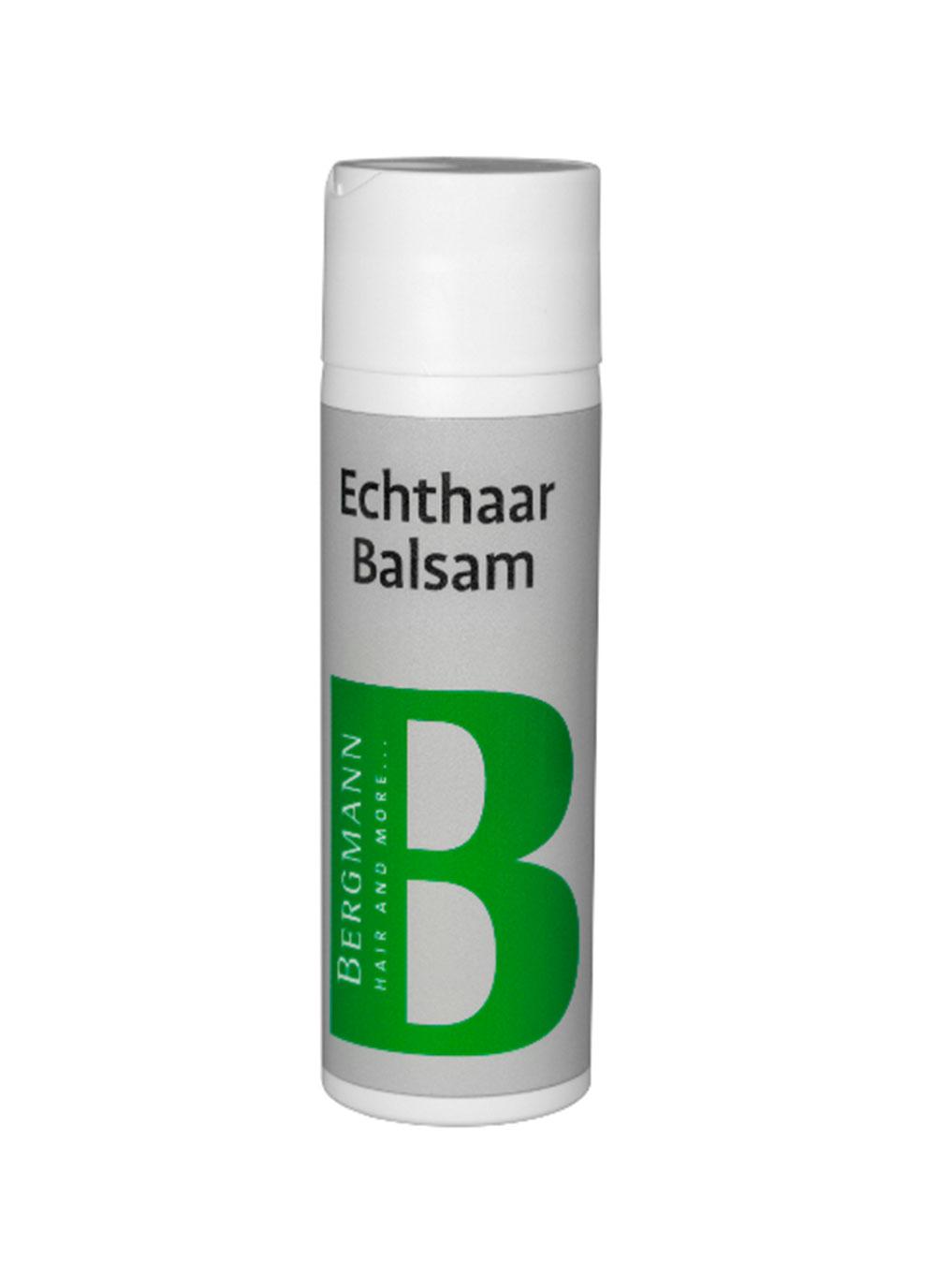 Bergmann Zubehör - Echthaar Balsam 200ml