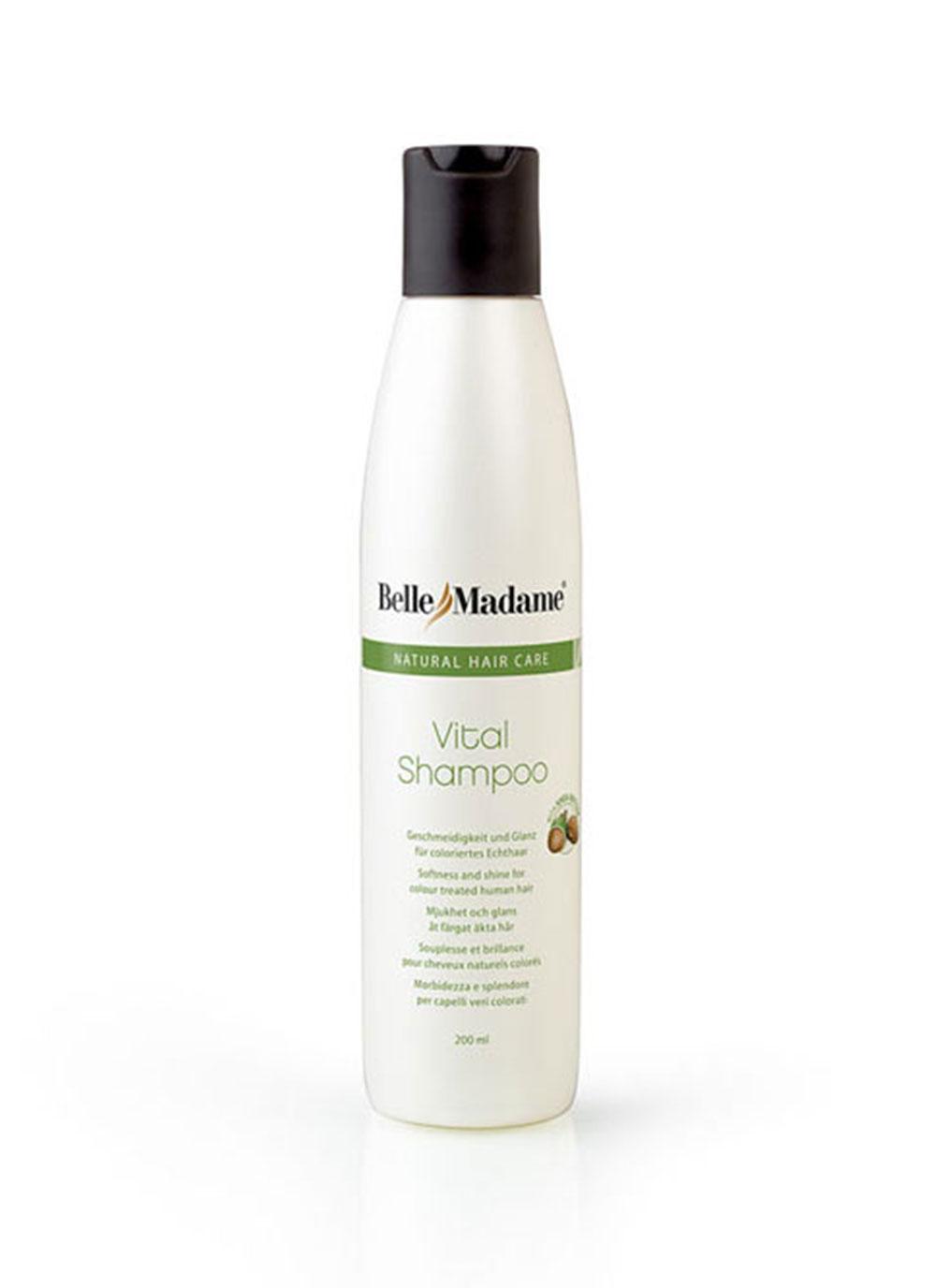 Dening Hair Zubehör - Vital Shampoo Echthaar 200ml