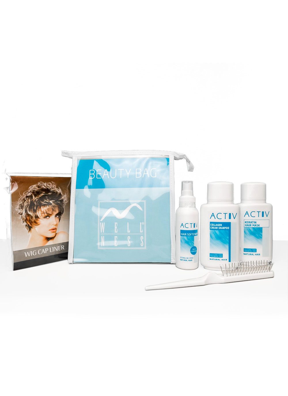 GFH Zubehör  - Activ Beauty Bag Pflegeset Echthaar