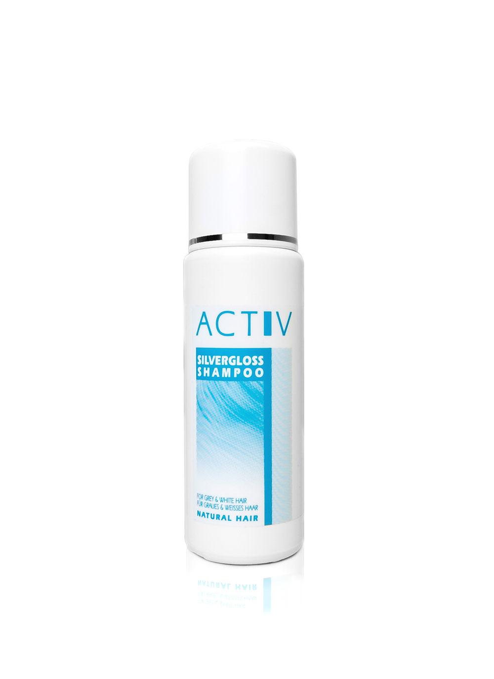 GFH Zubehör -  Activ Silvergloss Shampoo Echthaar 250ml