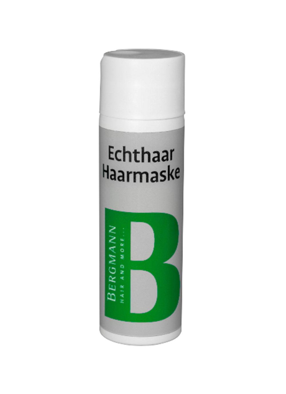 Bergmann Zubehör - Echthaar Haarmaske 200ml